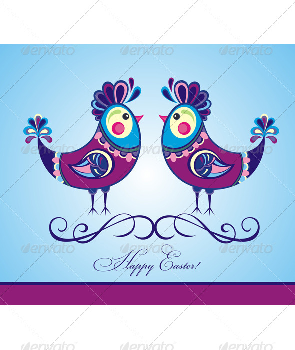 Easter Chickens - Seasons/Holidays Conceptual
