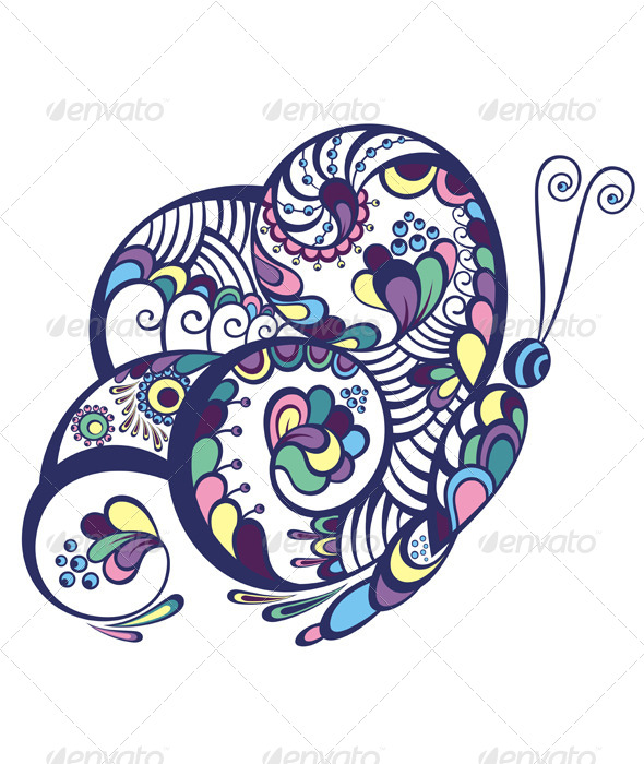 Decorative Butterfly - Animals Characters