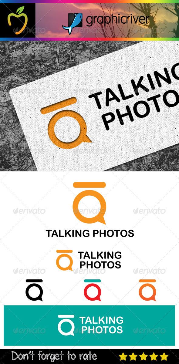 Talking Photos Logo - Abstract Logo Templates