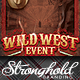 Download Wild West Gunslinger Flyer Poster Template from GraphicRiver