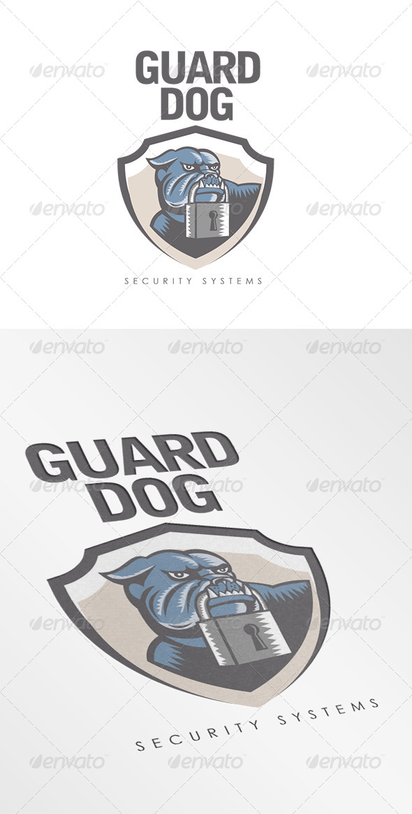 Guard Dog Security Systems Logo - Animals Logo Templates