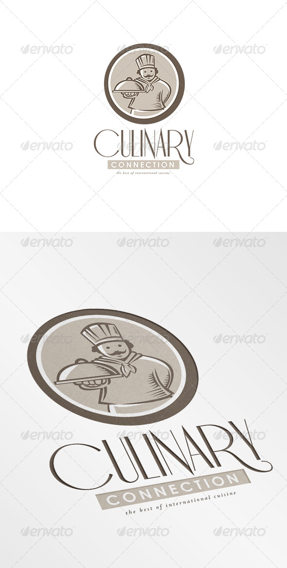 Culinary Connection Cuisine Logo - Humans Logo Templates