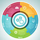 Circle Puzzle Infographic Elements Set - GraphicRiver Item for Sale