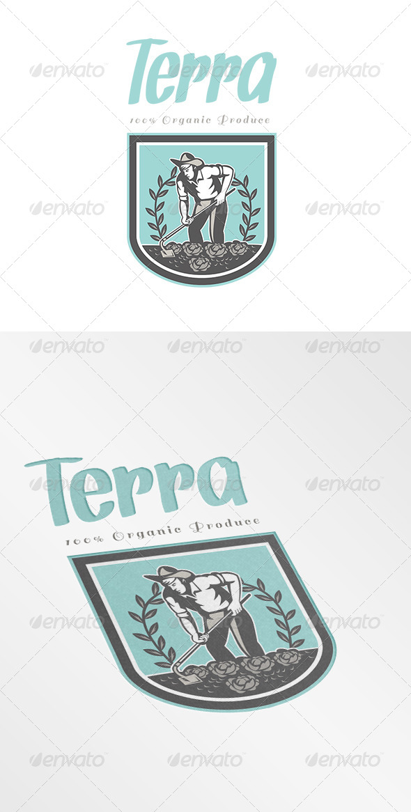 Terra Organic Produce Logo - Humans Logo Templates