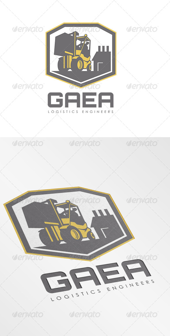 Gaea Logistics Engineers Logo - Objects Logo Templates