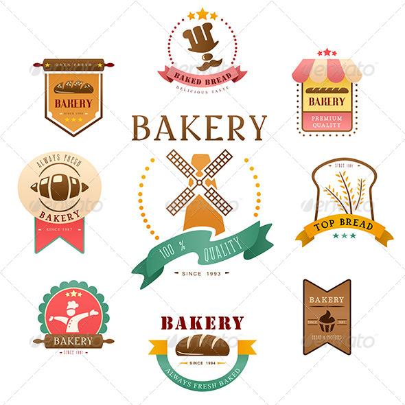 Bakery Label - Decorative Vectors