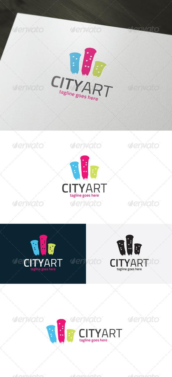 City Art Logo - Vector Abstract