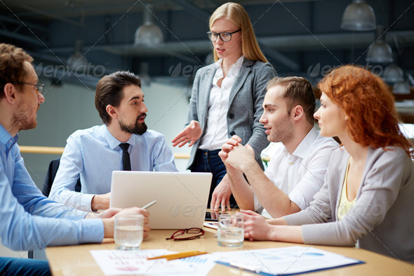 Debating - Stock Photo - Images