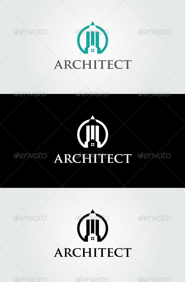 Architect Logo Template - Buildings Logo Templates