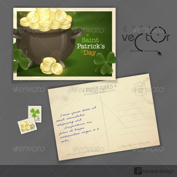 St. Patrick's Day Pot of Gold - Miscellaneous Seasons/Holidays