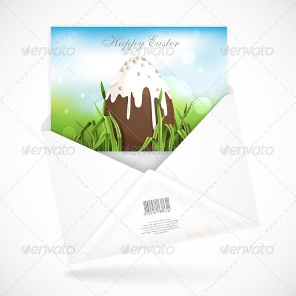 Chocolate Easter Egg - Miscellaneous Seasons/Holidays