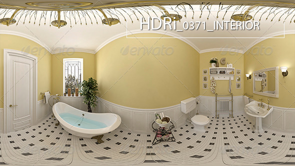 0371Interoir HDRi - 3DOcean Item for Sale