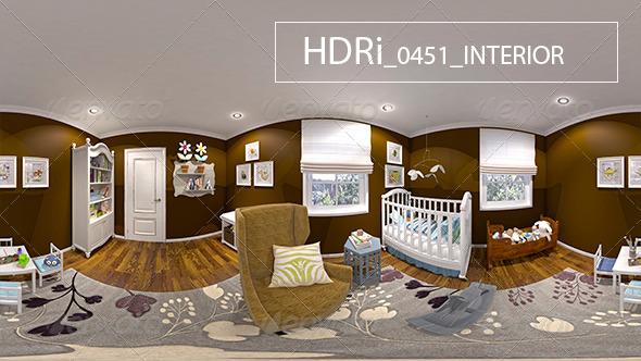 0451 Interoir HDRi - 3DOcean Item for Sale