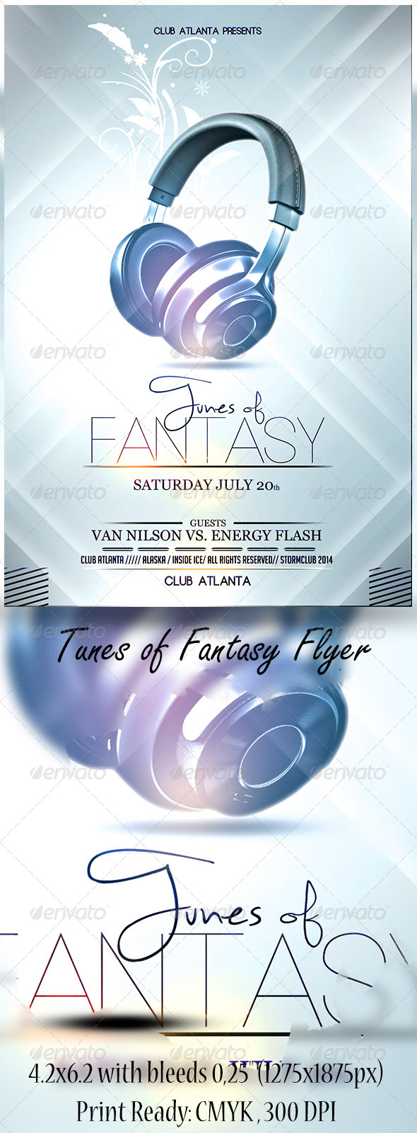 Tunes of Fantasy Flyer - Events Flyers