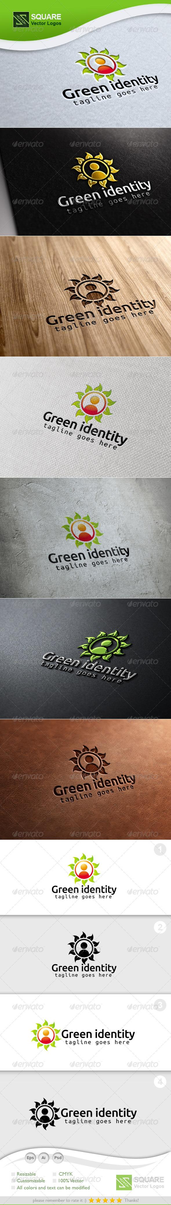 Leafs, Human  Vector Logo Template - Symbols Logo Templates