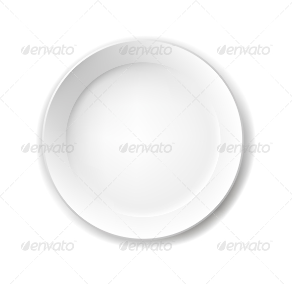 Plate - Flourishes / Swirls Decorative