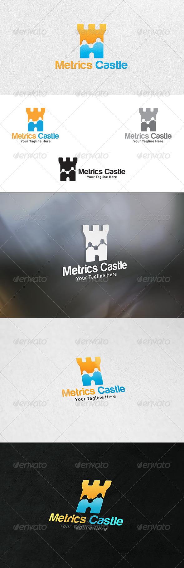 Metrics Castle - Logo Template - Buildings Logo Templates