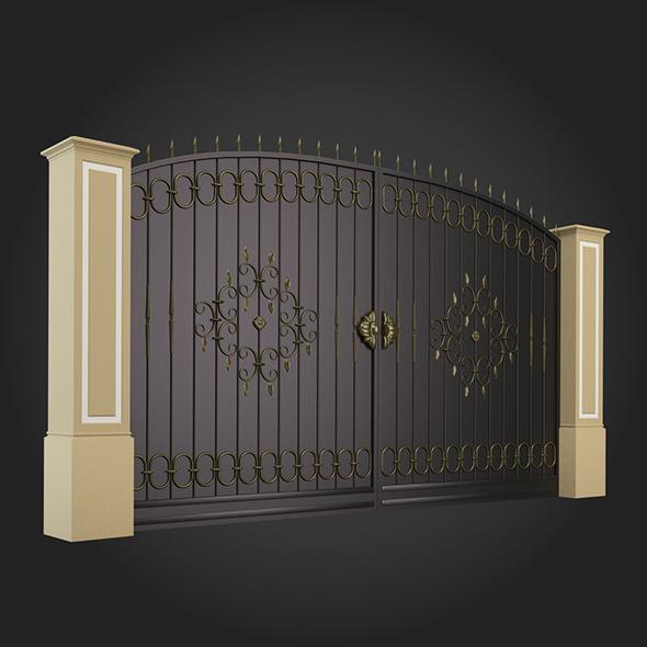 Gate 001 - 3DOcean Item for Sale