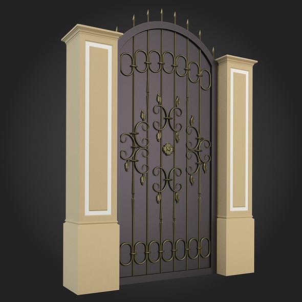 Gate 002 - 3DOcean Item for Sale