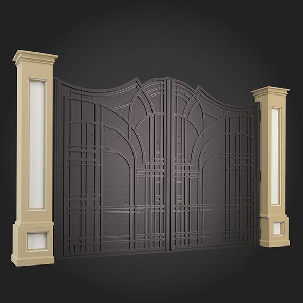 Gate 005 - 3DOcean Item for Sale