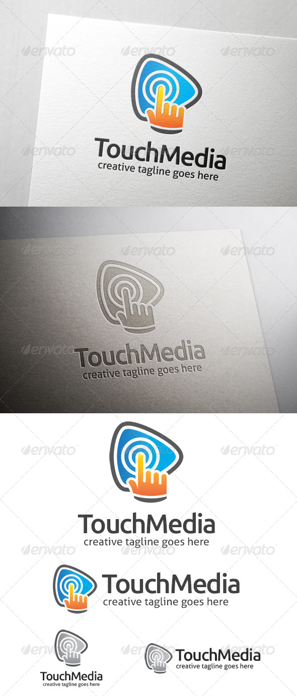 Touch Media Logo - Symbols Logo Templates