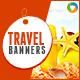 Travel Banner Set - GraphicRiver Item for Sale