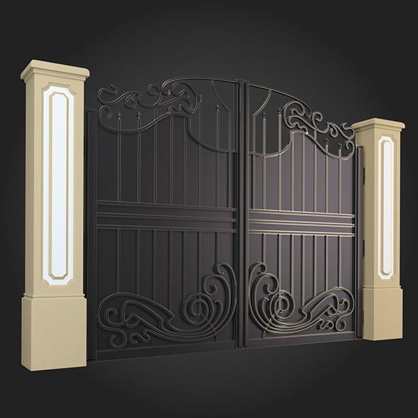 Gate 011 - 3DOcean Item for Sale