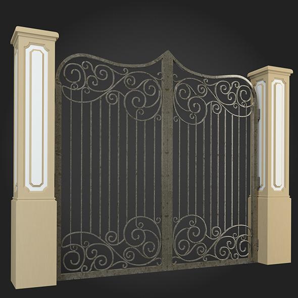 Gate 013 - 3DOcean Item for Sale