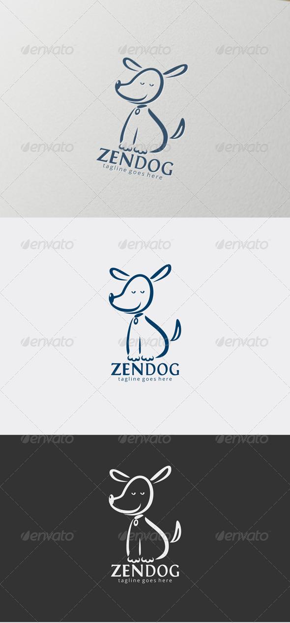 Zendog Logo - Animals Logo Templates