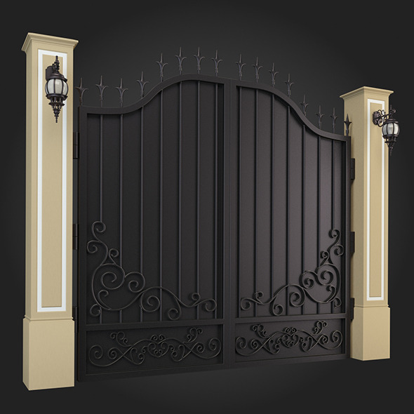 Gate 014 - 3DOcean Item for Sale