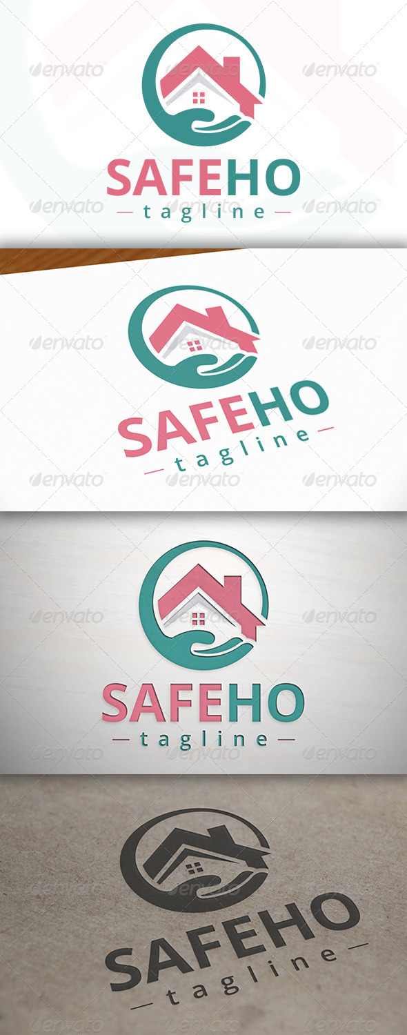 Safe House Logo - Buildings Logo Templates