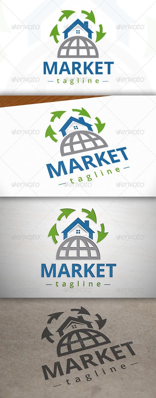 Marketing Real Estate Logo - Buildings Logo Templates
