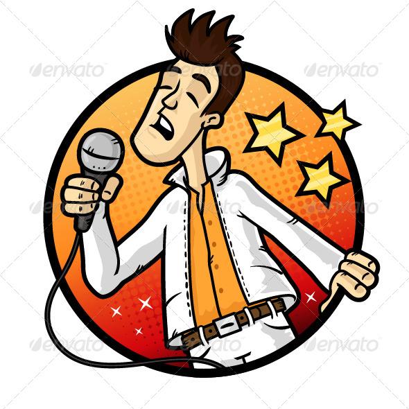 Karaoke Star - People Characters