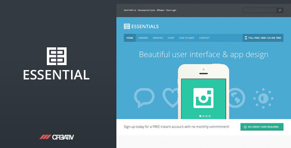 Business Essentials WordPress Theme
