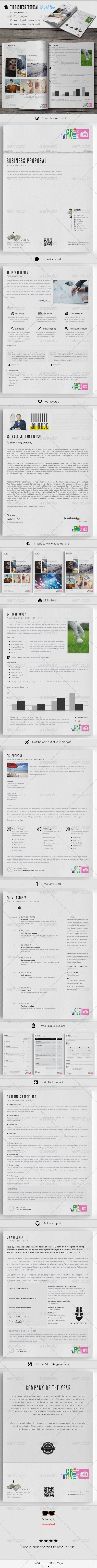 The Business Proposal - Proposals & Invoices Stationery
