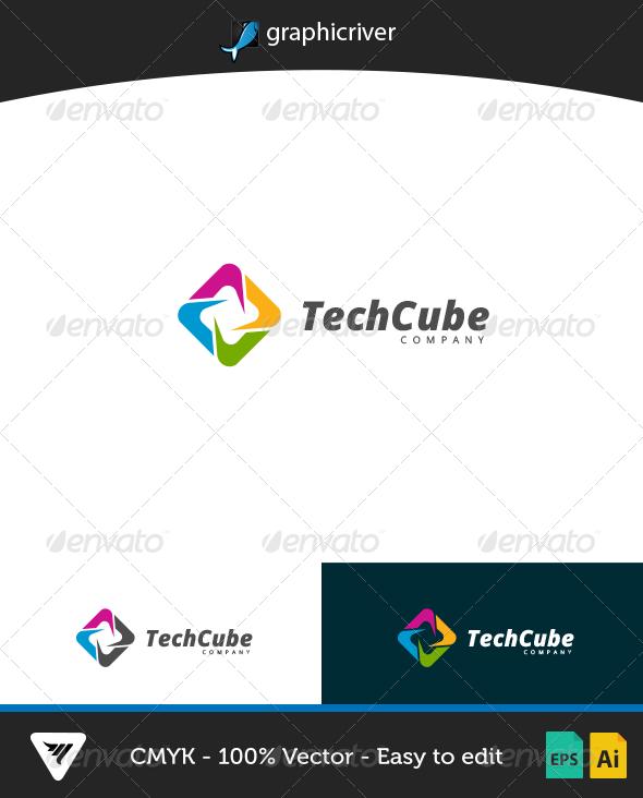 TechCube Logo - Logo Templates