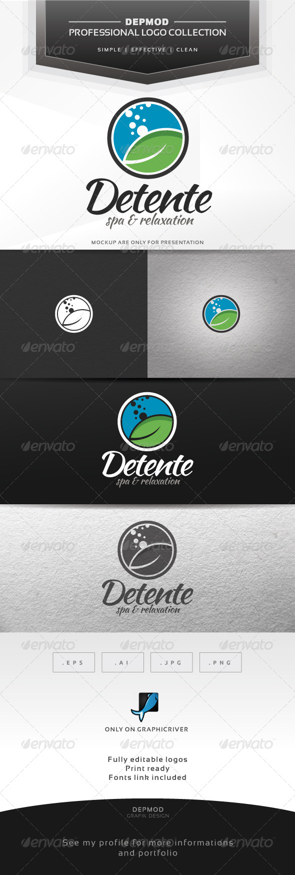 Detente Logo - Nature Logo Templates