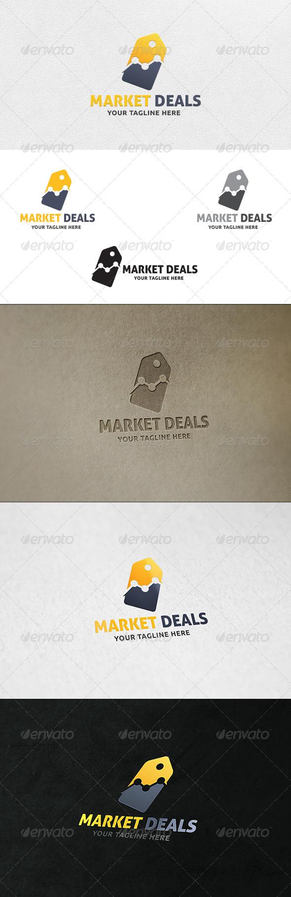 Market Deals - Logo Template - Symbols Logo Templates