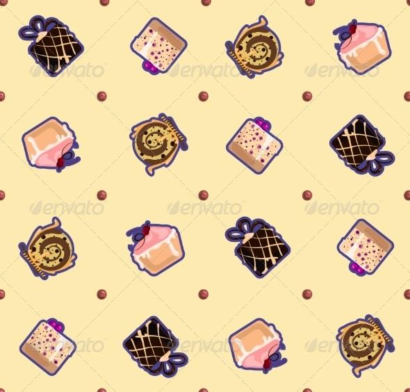 Cake Pattern - Food Objects