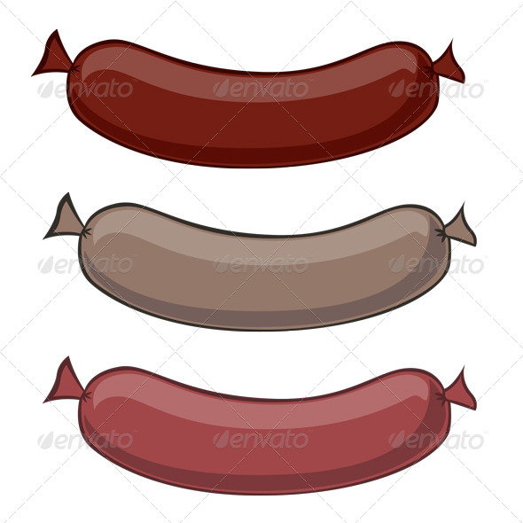 Sausages - Food Objects