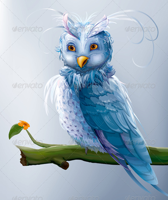 Cartoon Owl - Animals Characters