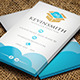Cloud Business Card - GraphicRiver Item for Sale