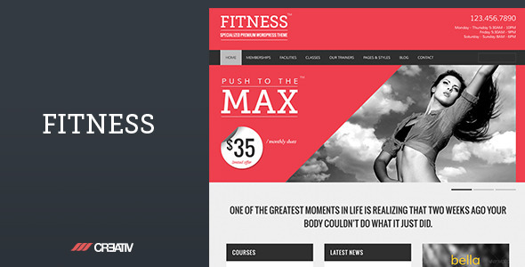 Fitness Premium WordPress Theme - Miscellaneous WordPress