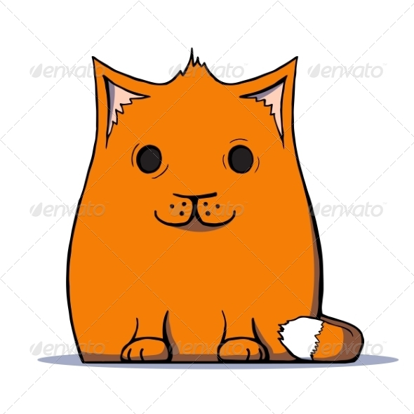 Cartoon Cat - Animals Characters