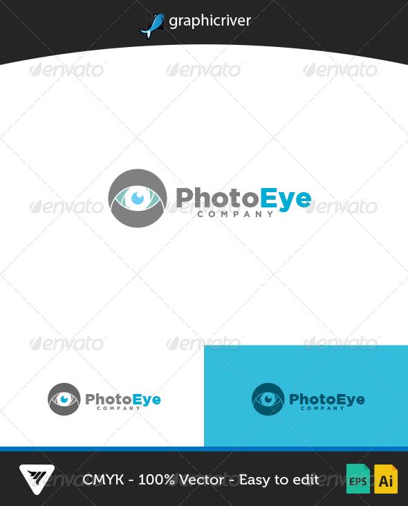 PhotoEye Logo - Logo Templates