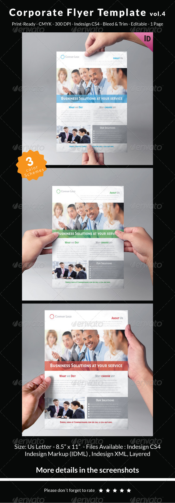 Corporate Flyer Template Vol.4 - Corporate Flyers