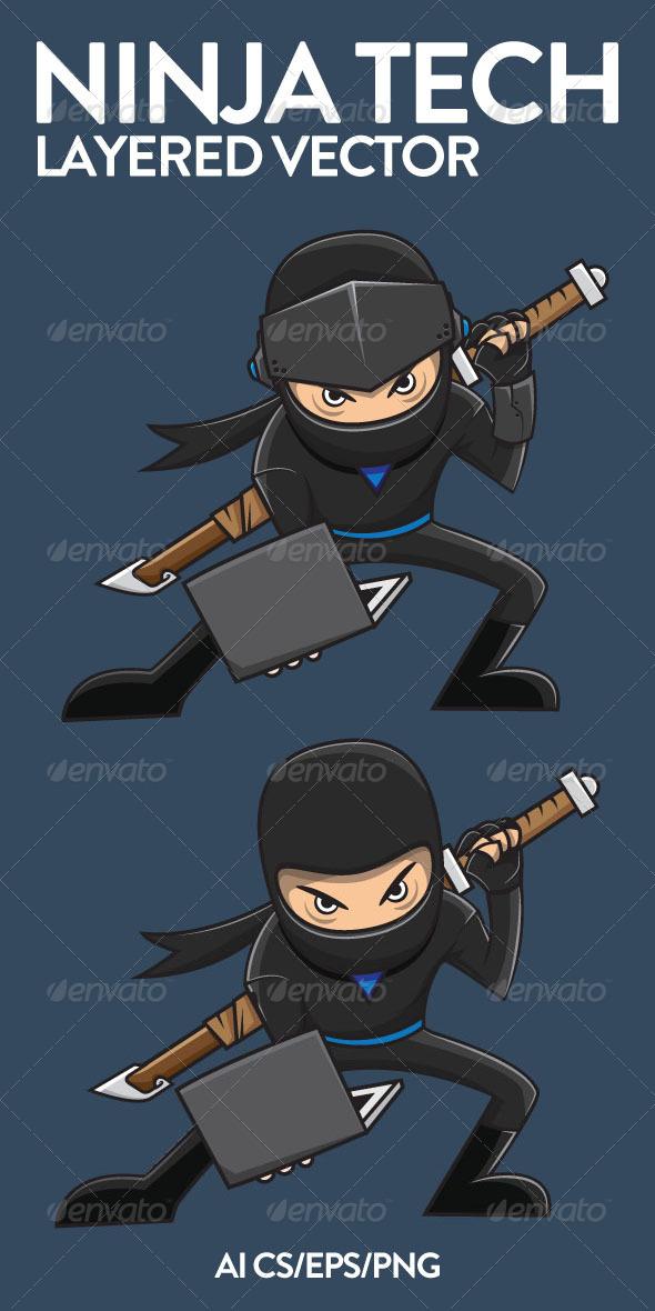 Ninja Tech - People Characters