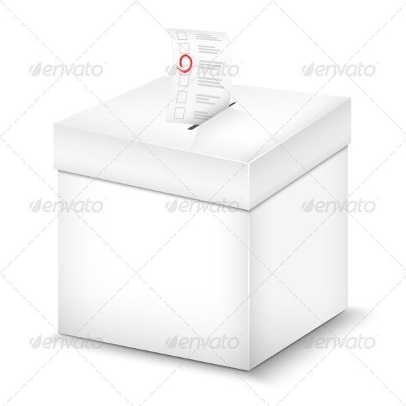 Ballot Box - Miscellaneous Vectors