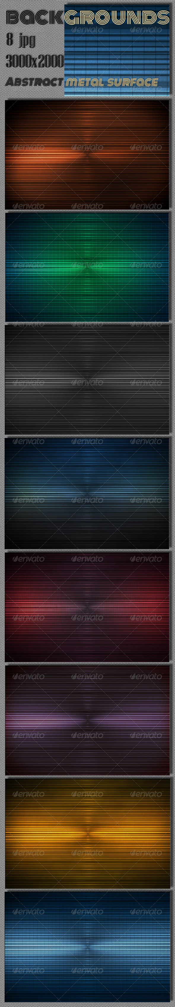 Metal Strips Surface - Tech / Futuristic Backgrounds