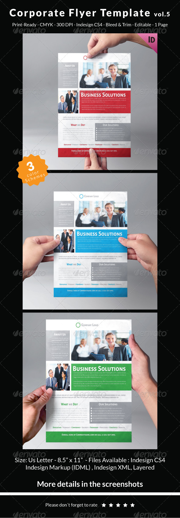 Corporate Flyer Template Vol.5 - Corporate Flyers